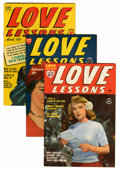 Golden Age (1938-1955):Miscellaneous, Harvey Golden Age Romance Comics Group (Harvey, 1949-50) Condition: Average VF.... (Total: 12 Comic Books)