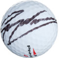 Golf Collectibles:Balls/Tees - Miscellaneous, Greg Norman Single Signed Golf Ball....