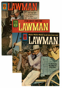Lawman #8, 9, and 11 File Copies Group (Dell, 1961-62) Condition: Average VF/NM.... (Total: 3 Comic Books)
