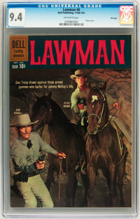 Lawman #6 File Copy (Dell, 1961) CGC NM 9.4 Off-white pages
