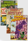 Silver Age (1956-1969):Science Fiction, DC Silver Age Science Fiction Group (DC, 1954-61) Condition: Average GD+.... (Total: 17 Comic Books)