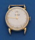 Timepieces:Wristwatch, Le Coultre 14k Gold Bumper Automatic With Wind Indicator. ...