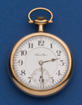 Timepieces:Pocket (post 1900), Hamilton 16 Size, 21 Jewel Grade 990 Pocket Watch. ...