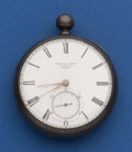 Timepieces:Pocket (pre 1900) , William Webb 58 mm, Sterling Lever Fusee Pocket Watch. ...