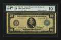 Large Size:Federal Reserve Note, Fr. 982* $20 1914 Federal Reserve Note PMG Very Good 10.. ...