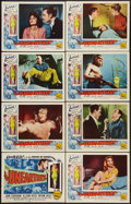 "Movie Posters:Science Fiction, The Unearthly (Republic, 1957). Lobby Card Set of 8 (11"" X 14"").Science Fiction.. ... (Total: 8 Items)"