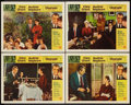 """Movie Posters:Mystery, Charade (Universal, 1963). Lobby Cards (4) (11"""" X 14""""). Mystery..... (Total: 4 Items)"""