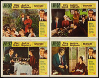 """Charade (Universal, 1963). Lobby Cards (4) (11"""" X 14""""). Mystery. ... (Total: 4 Items)"""