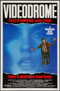"""Movie Posters:Fantasy, Videodrome (Universal, 1983). One Sheet (27"""" X 41"""") and Lobby Card Set of 8 (11"""" X 14""""). Fantasy.. ... (Total: 9 Items)"""