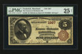 National Bank Notes:Maryland, Frederick, MD - $5 1882 Brown Back Fr. 468 The Farmers &Mechanics NB Ch. # 1267. ...