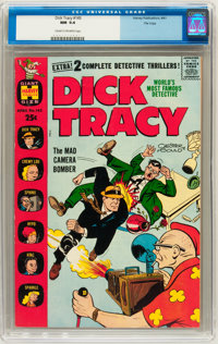 Dick Tracy Comics Monthly #145 File Copy (Harvey, 1960) CGC NM 9.4 Cream to off-white pages