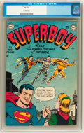 Golden Age (1938-1955):Superhero, Superboy #16 (DC, 1951) CGC VF 8.0 Off-white pages. ...