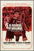 """Movie Posters:Western, A Fistful of Dollars (United Artists, 1967). One Sheet (27"""" X 41""""). Western.. ..."""