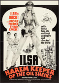 "Movie Posters:Exploitation, Ilsa, Harem Keeper of the Oil Sheiks (Cambist Films, 1976). OneSheet (27"" X 38""). Exploitation.. ..."