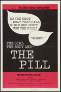 "Movie Posters:Drama, The Girl, the Body, and the Pill (Creative Film Enterprises, 1967). Autographed One Sheet (27"" X 41""). Drama.. ..."