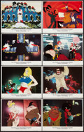 "Movie Posters:Animated, Coonskin (Bryanston, 1975). Lobby Card Set of 8 (11"" X 14"").Animated.. ... (Total: 8 Items)"