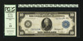 Large Size:Federal Reserve Note, Fr. 914* $10 1914 Federal Reserve Note PCGS Fine 15.. ...