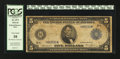 Large Size:Federal Reserve Note, Fr. 873* $5 1914 Federal Reserve Note PCGS Very Good 10.. ...