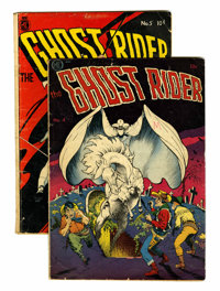 Ghost Rider #4 and 5 Group (Magazine Enterprises, 1951).... (Total: 2 Comic Books)