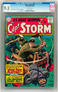 Silver Age (1956-1969):Adventure, Captain Storm #9 (DC, 1965) CGC NM- 9.2 Off-white pages....