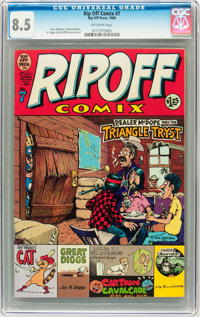 Rip Off Comix #7 (Rip Off Press, 1980) CGC VF+ 8.5 Off-white pages