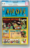 Bronze Age (1970-1979):Alternative/Underground, Rip Off Comix #8 (Rip Off Press, 1981) CGC NM 9.4 Off-white pages. ...