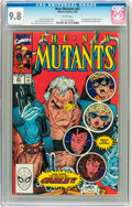 Modern Age (1980-Present):Superhero, The New Mutants #87 (Marvel, 1990) CGC NM/MT 9.8 White pages. ...