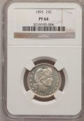 Proof Barber Quarters, 1895 25C PR64 NGC....