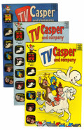 Silver Age (1956-1969):Cartoon Character, TV Casper and Company #11-46 Multiple File Copy Short Box Group (Harvey, 1966-74) Condition: Average NM-....