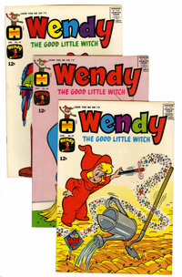 Wendy, the Good Little Witch File Copy Short Box Group (Harvey, 1965-69) Condition: Average NM-