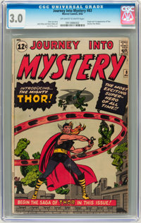 Journey Into Mystery #83 (Marvel, 1962) CGC GD/VG 3.0 Off-white to white pages