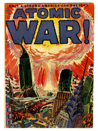 Atomic War! #1 (Ace, 1952) Condition: GD/VG