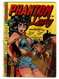 Phantom Lady #17 (Fox Features Syndicate, 1948) Condition: FR