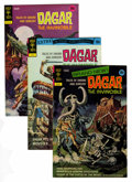 Bronze Age (1970-1979):Miscellaneous, Dagar the Invincible File Copies Group (Gold Key, 1972-82)Condition: Average VF+.... (Total: 17 Comic Books)