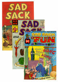 Silver Age (1956-1969):Humor, Sad Sack Comics Complimentary Issues File Copies Group (Harvey, 1951-74) Condition: Average VF/NM.... (Total: 86 Comic Books)
