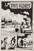 Original Comic Art:Panel Pages, Jaime Hernandez Love and Rockets #3 page 2 Original Art(Fantagraphics, 1983)....