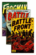 Golden Age (1938-1955):War, Miscellaneous Golden Age War Group (Various Publishers, 1952-58)Condition: Average GD.... (Total: 13 Comic Books)