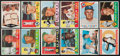 Baseball Cards:Sets, 1960 Topps Baseball Partial Set (240 cards+) With 8 High Numbers. ...