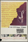 """Movie Posters:Drama, Splendor in the Grass (Warner Brothers, 1961). One Sheet (27"""" X 41""""). Drama.. ..."""