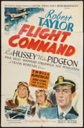 "Movie Posters:War, Flight Command (MGM, 1940). One Sheet (27"" X 41""). War.. ..."