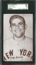 "Baseball Cards:Singles (1940-1949), 1947-1966 Exhibits Yogi Berra ""Made In USA"" SGC 98 Gem 10 - Pop1!..."