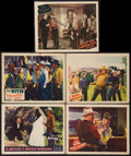 """Movie Posters:Western, Tex Ritter Lot (Grand National, 1936-1937). Lobby Cards (5) (11"""" X 14""""). Western.. ... (Total: 5 Items)"""