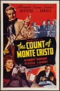 "Movie Posters:Adventure, The Count of Monte Cristo (Edward Small, R-1948). One Sheet (27"" X41""). Adventure.. ..."