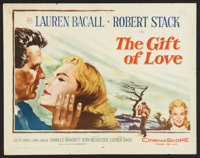 """The Gift of Love Lot (20th Century Fox, 1958). Half Sheets (2) (22"""" X 28""""). Drama. ... (Total: 2 Items)"""