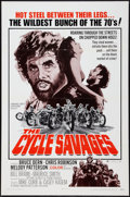 """Movie Posters:Exploitation, The Cycle Savages (Trans American, 1970). One Sheet (27"""" X 41"""").Exploitation.. ..."""
