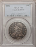 Bust Half Dollars: , 1832 50C Small Letters Fine 15 PCGS. PCGS Population (11/1728). NGCCensus: (11/1655). Mintage: 4,797,000. Numismedia Wsl. ...