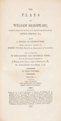 Books:Literature Pre-1900, William Shakespeare. The Plays of William Shakspeare.London: F. C. and J. Rivington, et al, 1805. Later edition. Ni...(Total: 9 Items)