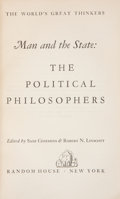 Books:World History, Saxe Commins & Robert N. Linscott [editors]. Man and the State: The Political Philosophers. New York: Random House, ... (Total: 4 Items)