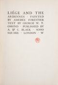 Books:Children's Books, George W. T. Omond. Liége and the Ardennes. London: A. &C. Black, [n. d.]. Later edition. Octavo. 125 pages. Il...