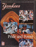 Baseball Collectibles:Publications, 1988 New York Yankees Team Signed Yearbook....